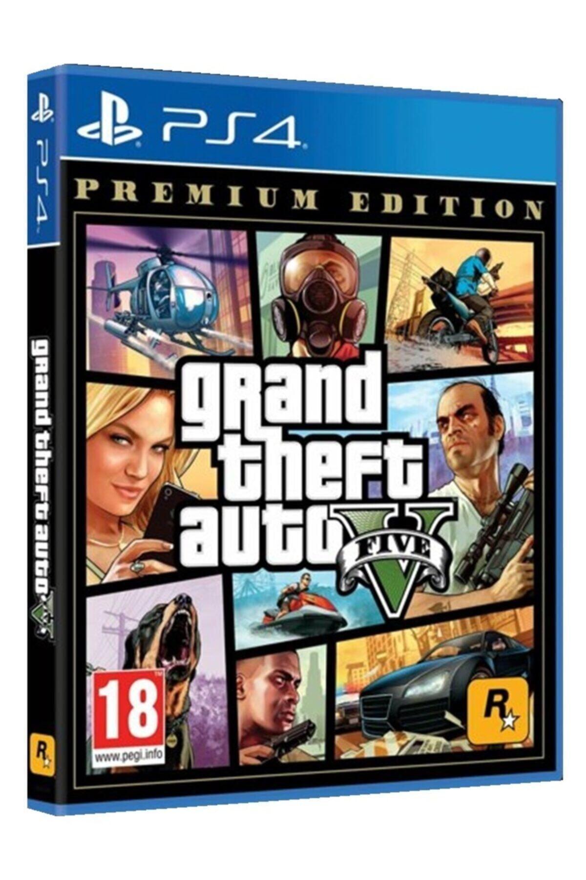 Ps4 Grand Theft Auto 5 Premium Edıtıon Gta 5 Oyun Orjinal