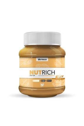 Nutrich Nutrition Nutrich Chunky Bisküvi Parçacıklı Doğal Fıstık Ezmesi 350 Gr 0