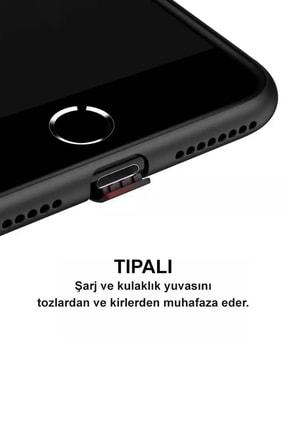 CEPSTOK Apple Iphone 11 Kılıf Ultra Ince Tıpalı Soket Korumalı Kamera Korumalı Mat Siyah Slim Silikon 2