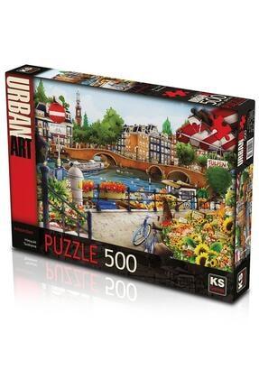 20006 Puzzle 500/amsterdam Puzzle 500 Parça THT1051533
