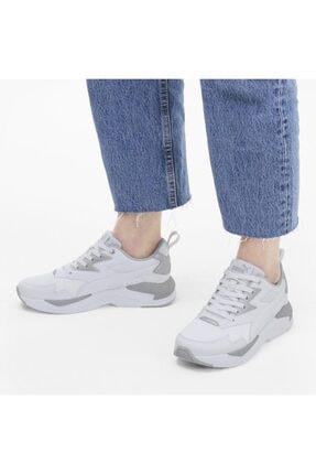 Puma X-RAY LITE WMN'S METALLIC Beyaz Kadın Sneaker Ayakkabı 100660676 2