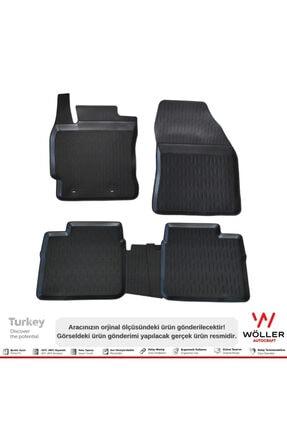 Wöller Toyota Corolla Paspas 2013 2018 Arası 3d Havuzlu Paspas 2