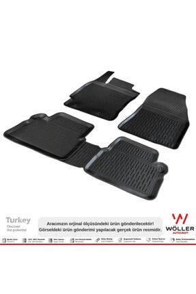 Wöller Toyota Corolla Paspas 2013 2018 Arası 3d Havuzlu Paspas 3