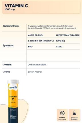 Eczacıbaşı Selfit Vitamin C 1000 Mg 20 Efervesan Tablet - Son Kullanma Tarihi: 01.2023 2