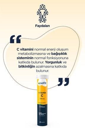 Eczacıbaşı Selfit Vitamin C 1000 Mg 20 Efervesan Tablet - Son Kullanma Tarihi: 01.2023 3