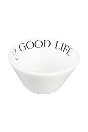Bella Maison Motto Seramik Çerezlik Good Life (10 Cm) 2
