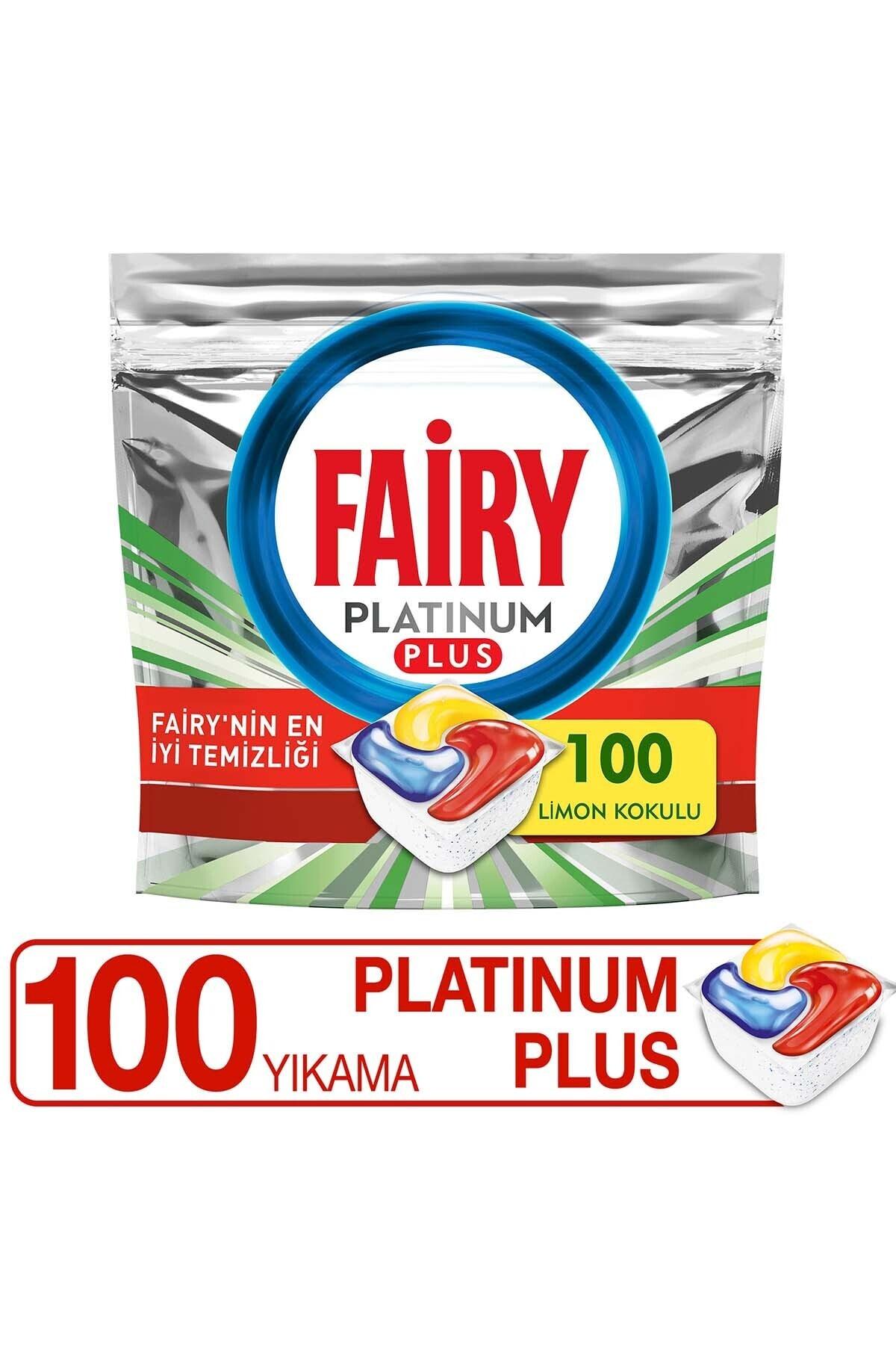 Platinum Plus 100 Yıkama Bulaşık Makinesi Deterjanı Kapsülü