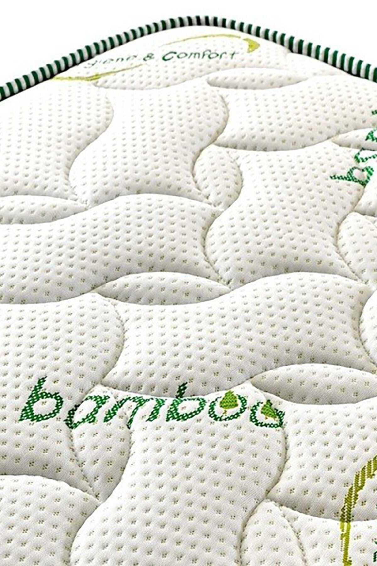 Opalin Bamboo Ortopedik Yaylı Yatak 90x190 Cm