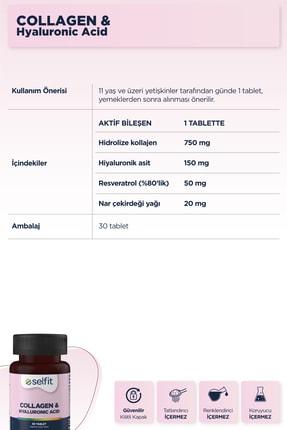Eczacıbaşı Selfit Collagen & Hyaluronic Acid 30 Tablet -  Son Kullanma Tarihi: 04.2023 2