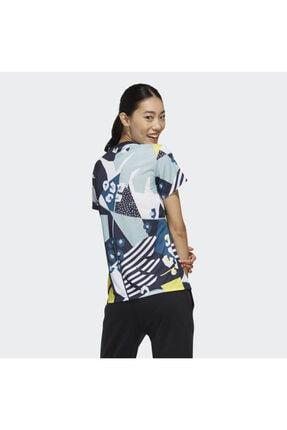 adidas W FARM T Kadın Tişört 2