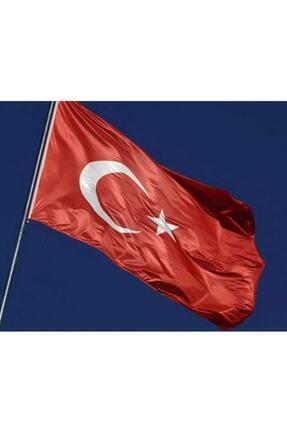 Buket Türk Bayrağı 100x150 cm Özel Raşel Kumaş Bayrak (BKT-124) 0
