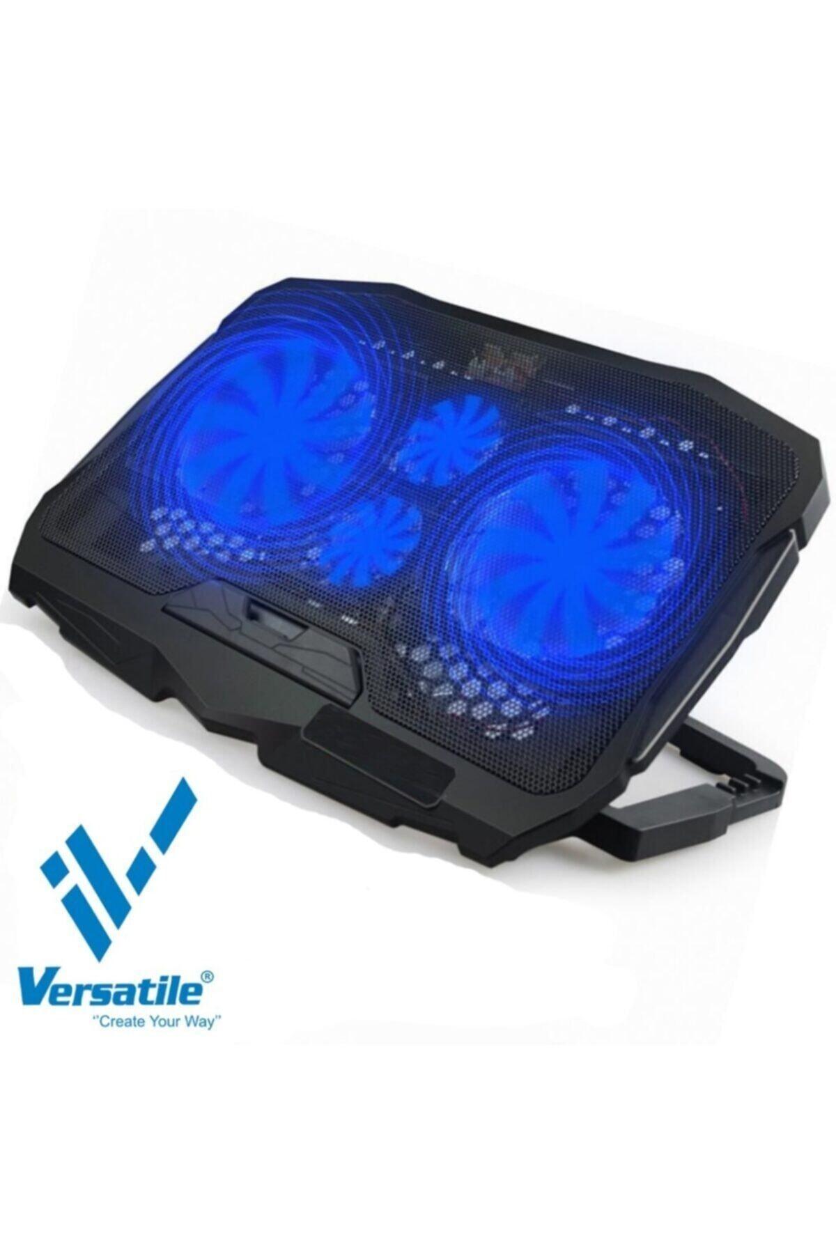 Vrc-d17 Notebook Laptop Soğutucu Ledli Işıklı 4 Fan