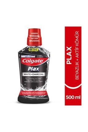 Colgate Plax Beyazlık + Aktif Kömür Beyazlatıcı Ağız Bakım Suyu 500 ml 0