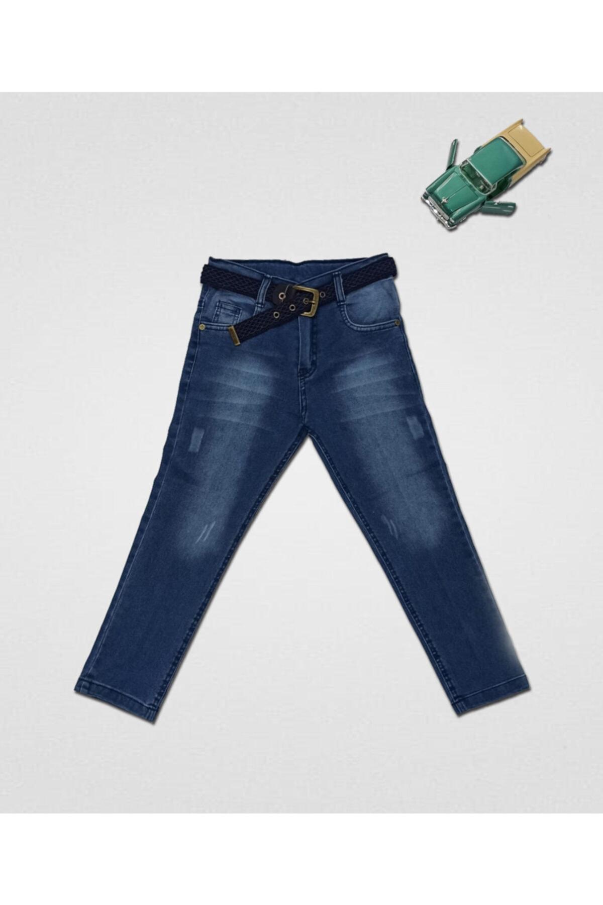 Erkek Çocuk Mavi Jeans