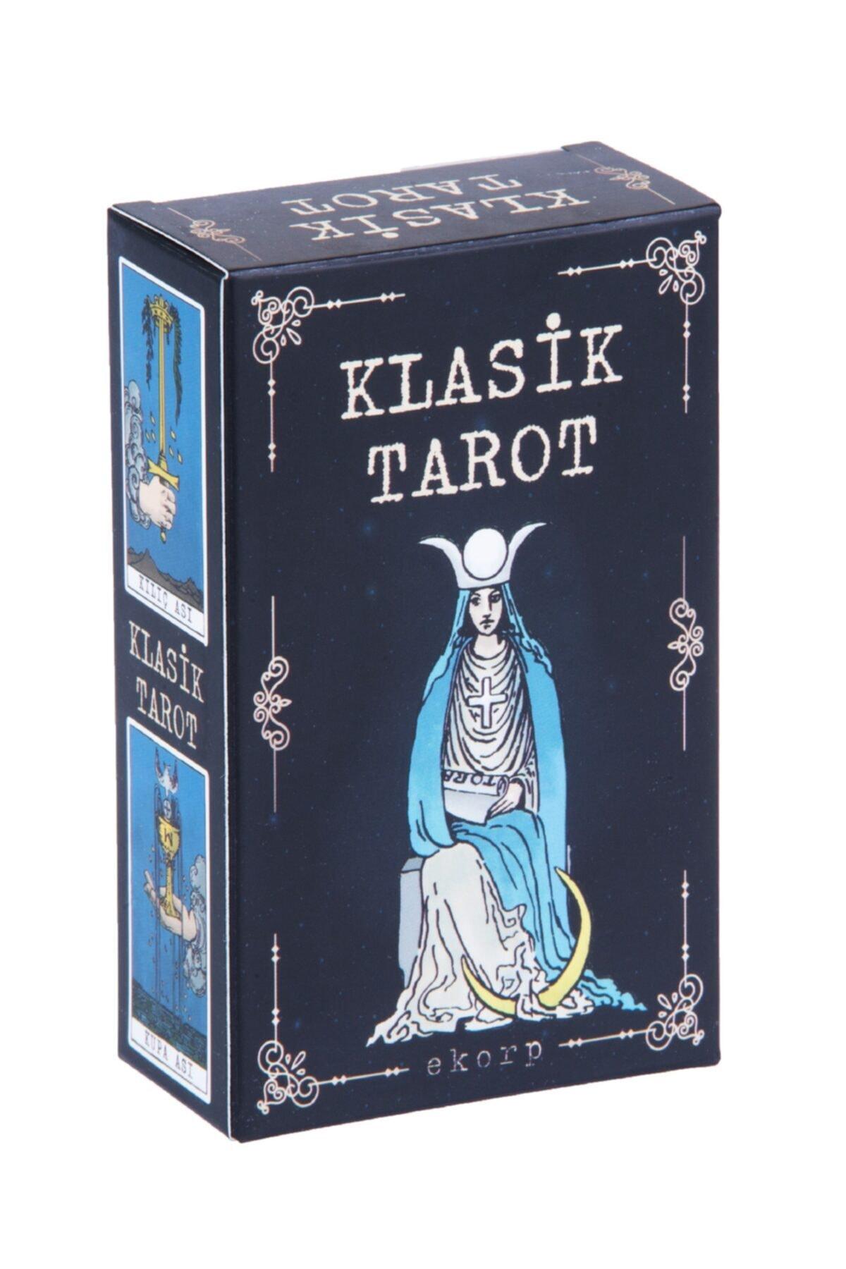 Klasik Tarot Takımı - 78 Kart Ve Rehber Kitap 2021 Orijinal Evrensel Baskı Oval Kenarlar