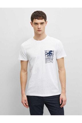 Koton 1yam11802lk Erkek T-shirt 0