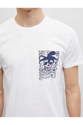 Koton 1yam11802lk Erkek T-shirt 4