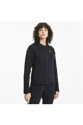 Puma EVOSTRIPE FZ Siyah Kadın Sweatshirt 101119404 0
