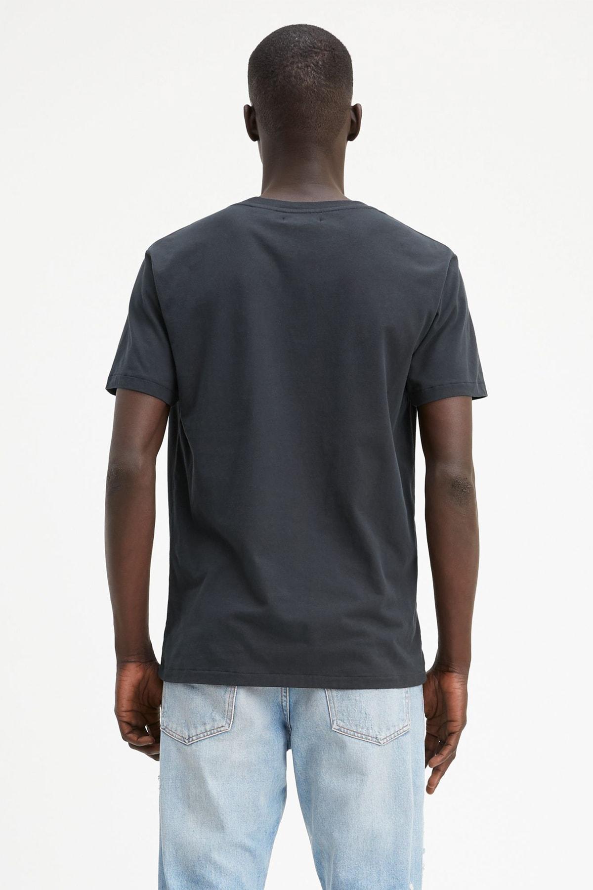 Levi's Lmc Pocket Tee Lmc Caviar Black Siyah Erkek Tişört