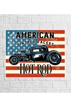 American Vintage Retro Vintage Ahşap Poster Asrt249 ASRT249