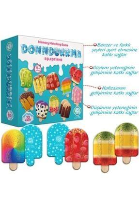 Altıngöz Oyuncak Circle Toys Dondurma Eşleştirme Kartları 0