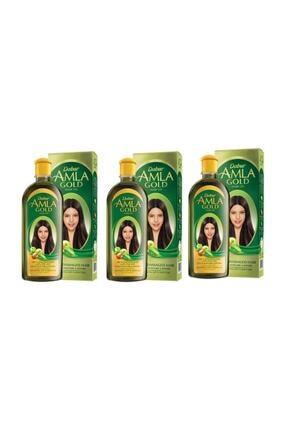 Dabur Amla Gold Saç Bakım Yağı 200 ml 3 Adet 0