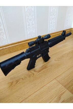 SLV Sesli Oyuncak M416 Taramalı Otomatik Saldırı Tüfeği M4 M16 50cm 2