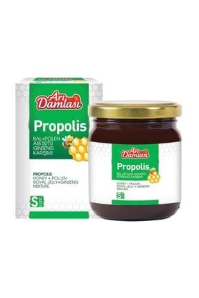 Arı damlası Propolis Bal Polen Arı Sütü Ginseng Karışım Süper Doz 230 Gr 0