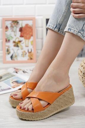 Bahar Turuncu Kadın Sandalet BA-ASİA-21103