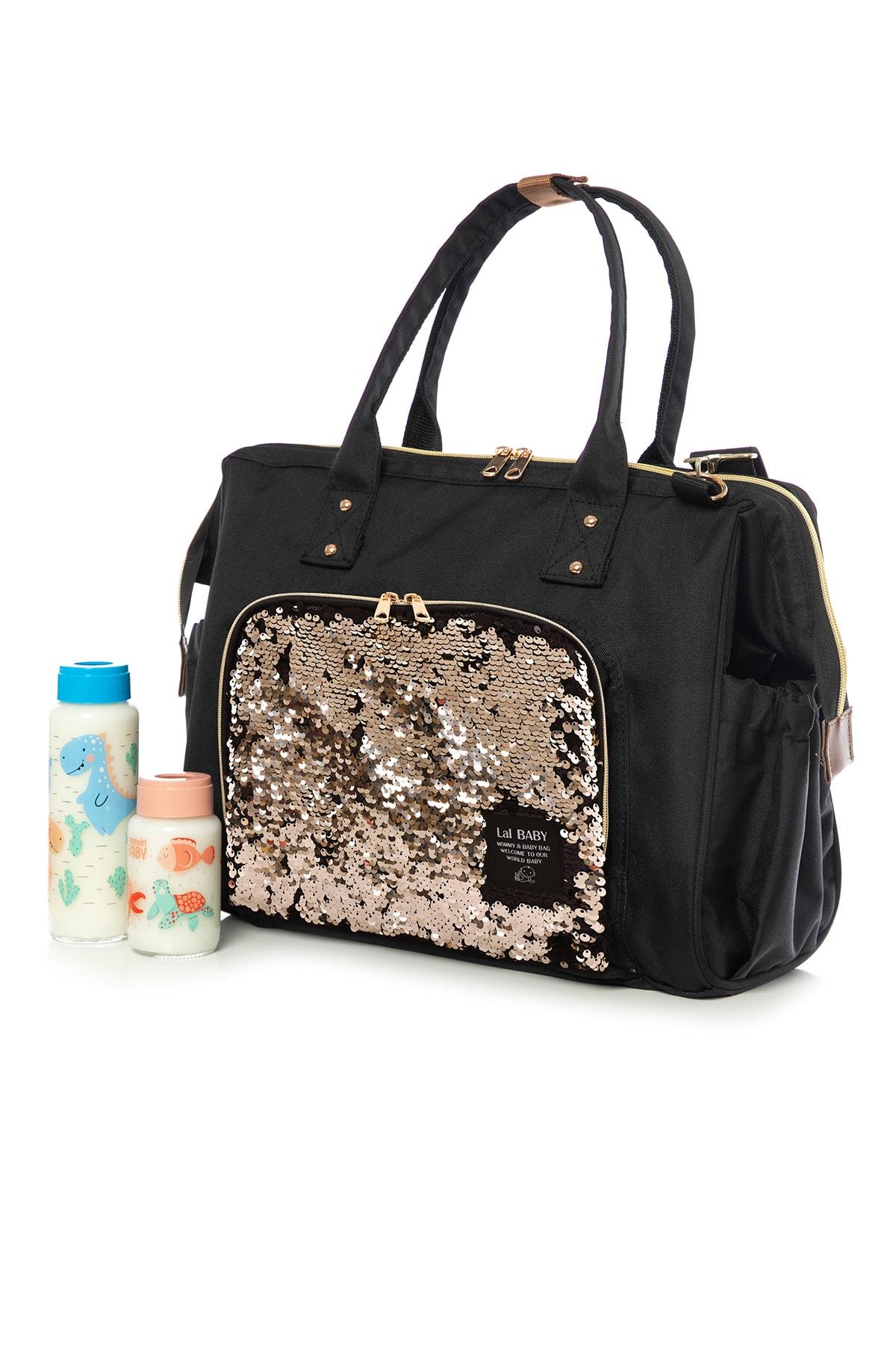 Baggage Bag Pullu Omuz Askılı Anne Bebek Bakım Çantası
