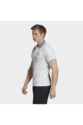 adidas Dx1804 Club Polo Beyaz Erkek Tenis Tişört 0