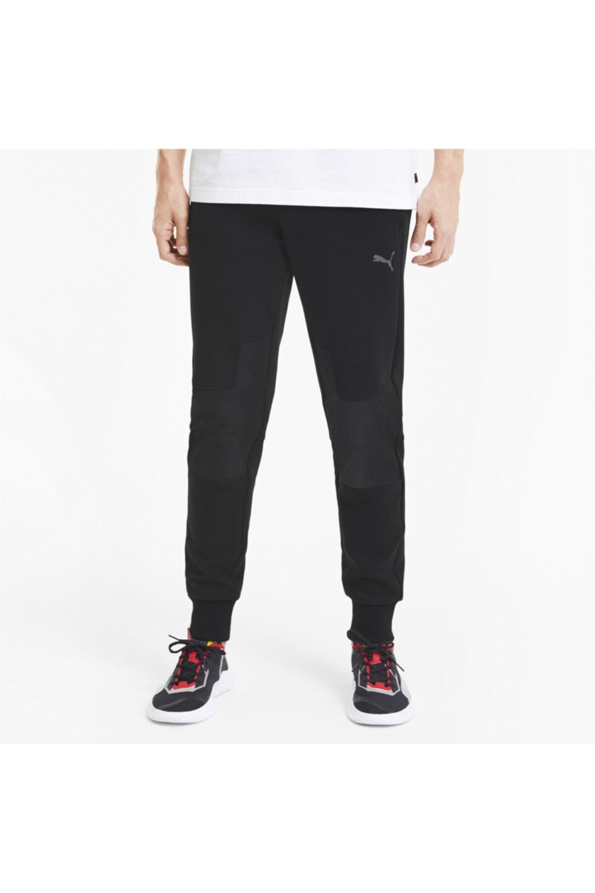 Ferrari Style Sweat Pants Cc Erkek Siyah Günlük Eşofman Altı 59792801