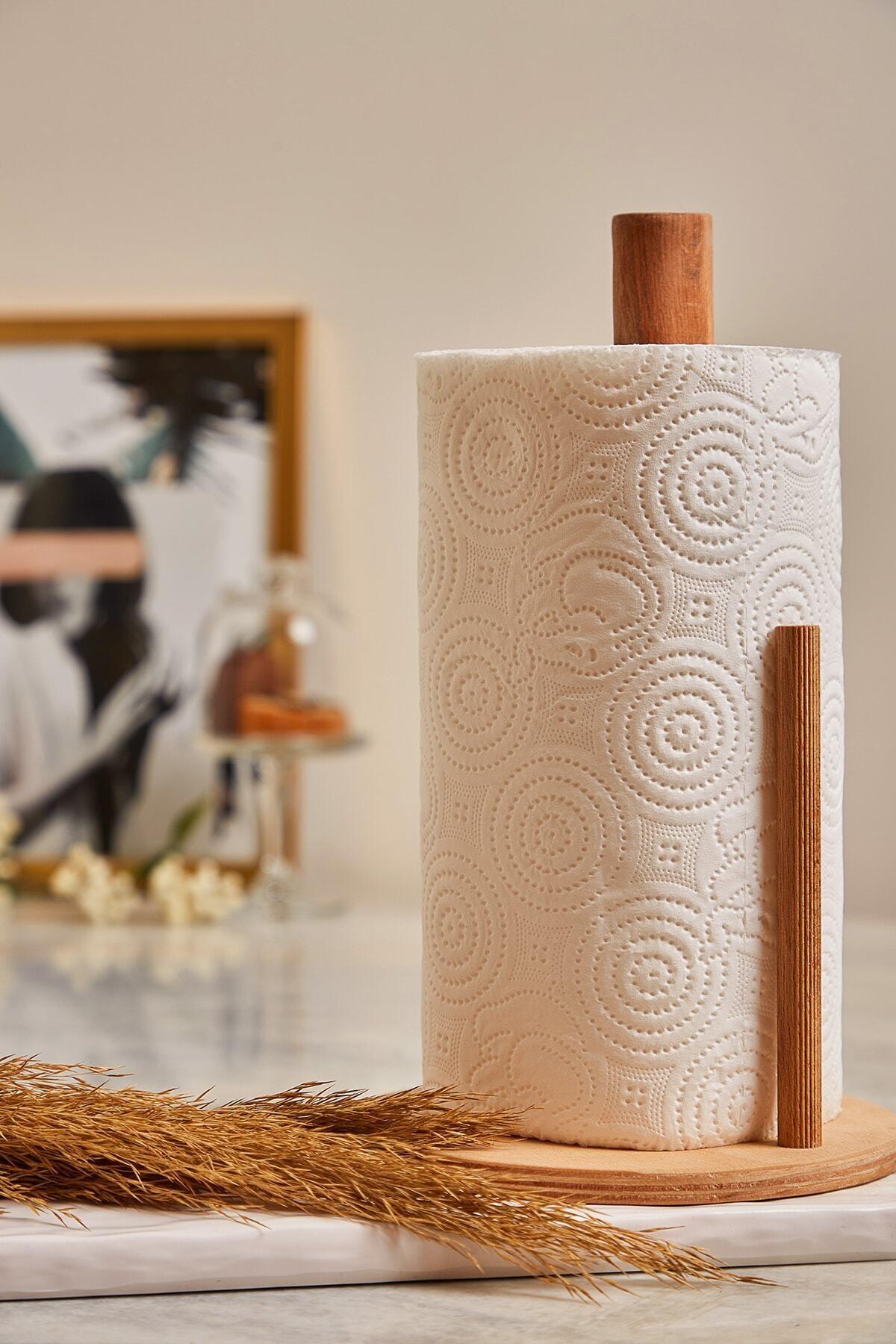 Ahşap Silindir Havlu Kağıtlık-peçetelik Lbhvl05