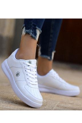 Lumberjack Finster Beyaz Air Force Kadın Sneaker Ayakkabı 0