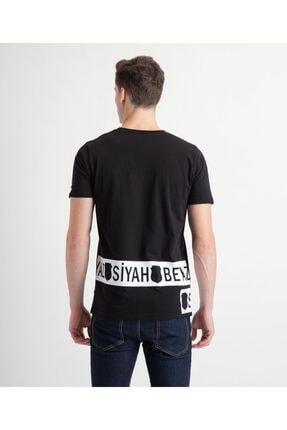 Beşiktaş SİYAH BEYAZ RING ERKEK T-SHIRT 7919139 3