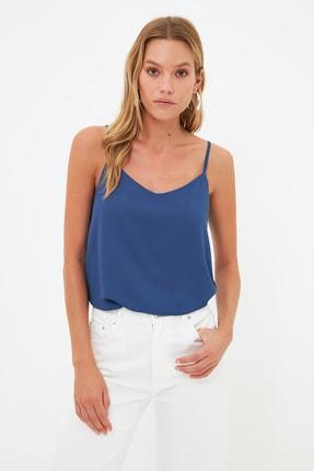 TRENDYOLMİLLA Lacivert Basic Bluz TWOSS19BB0224 0