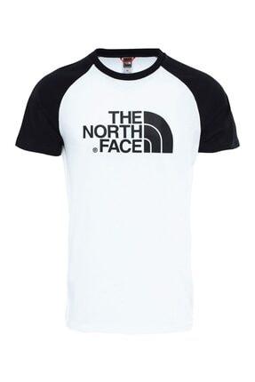 The North Face M S/S RAGLAN EASY Beyaz Erkek T-Shirt 100576729 0