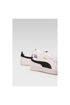 Puma SHUFFLE JR Beyaz Erkek Çocuk Sneaker Ayakkabı 101085496 2