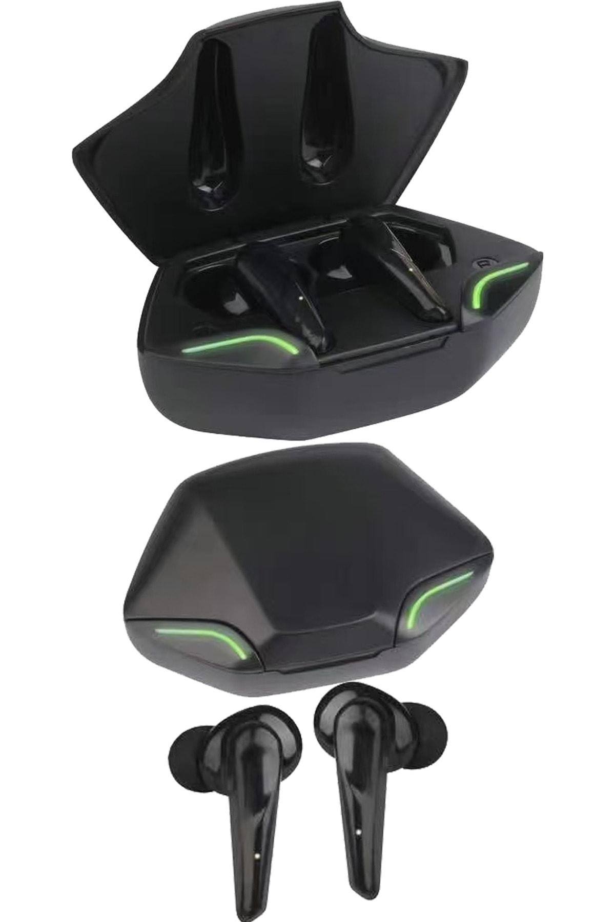 Led Işıklı Oyuncu Kulaklığı Mikrofonlu Kablosuz Bluetooth V5.0 -