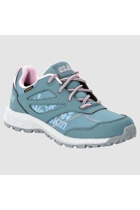 4042161 Woodland Texapore Low Grey/pink Kadın Outdoor Ayakkabı resmi