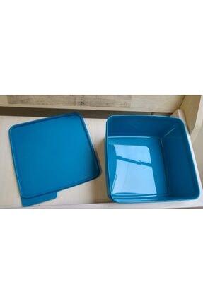Tupperware Renkli Dikdörtgen 2.5 Lt Saklama Kabı 4