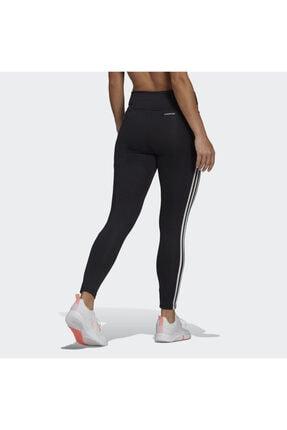 adidas Designed To Move High-rise 3-stripes 7/8 Kadın Siyah Tayt (GL4040) 1