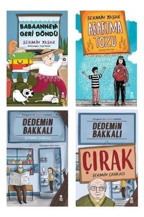 Taze Yayınları Babaannem Geri Döndü/ Abartma Tozu /dedemin Bakkalı /dedemin Bakkalı-çırak Şermin Yaşar 4 Kitap Set 0