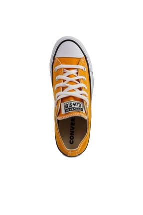 Converse Chuck Taylor All Star Kadın Sarı Spor Ayakkabı (170468C.801) 2