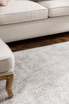 English Home Şal Desen Polyester Halı 120x180 Cm Vizon 1
