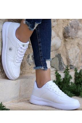 Lumberjack Finster Beyaz Air Force Kadın Sneaker Ayakkabı 1