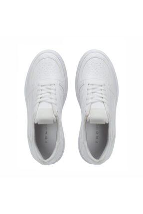 Kemal Tanca Kadın Beyaz Vegan Sneaker Ayakkabı 3