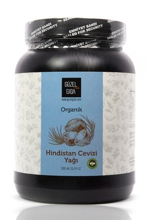Güzel Gıda Organik Hindistan Cevizi Yağı Soğuk Sıkım 1 Lt 0