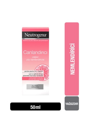 Neutrogena Visibly Clear Pembe Greyfurt Yağsız Nemlendirici 50 ml 0