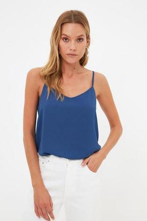 TRENDYOLMİLLA Lacivert Basic Bluz TWOSS19BB0224 2